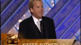 Kiefer Sutherland best actor in TV drama Golden Globes