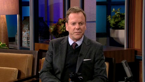 Kiefer Sutherland on Tonight Show Jay Leno