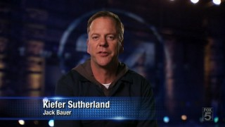 Kiefer Sutherland at FOX's 25th Anniversary Special