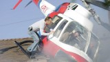 Jack Bauer rescues man from helicopter crash