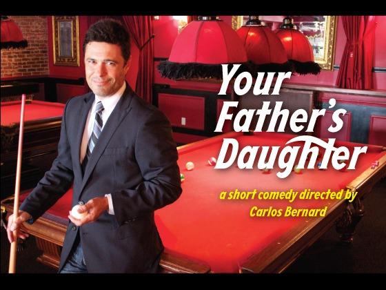 Carlos Bernard - Your Father's Daughter short film