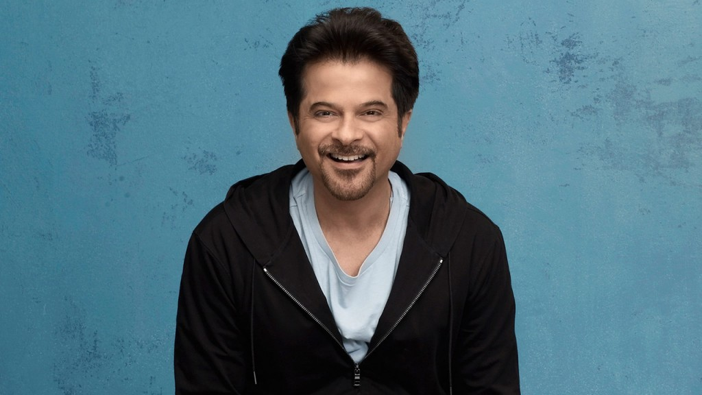 Anil Kapoor in a FOX photo shoot