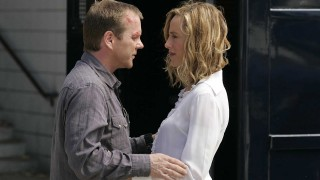 Jack Bauer and Audrey Raines in the 24 Season 5 Finale