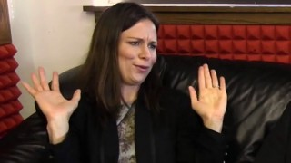 Mary Lynn Rajskub on Greg's Big Black Couch