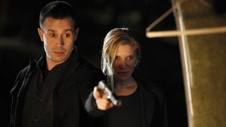 Cole Ortiz and Dana Walsh in 24 Season 8 Episode 9