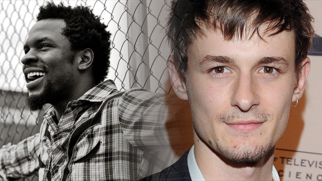 Gbenga Akinnagbe (left) and Giles Matthey (right) have just been cast in 24: Live Another Day as CIA Employees