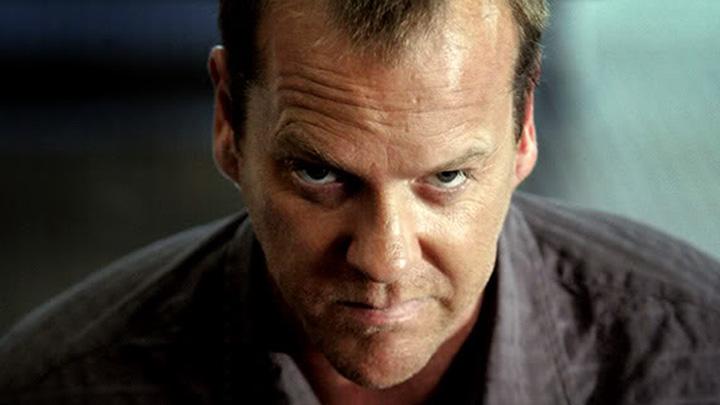 Jack Bauer looking badass