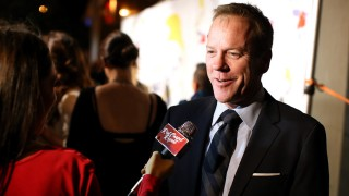 Kiefer Sutherland at Stand Up For Gus Benefit, November 2013