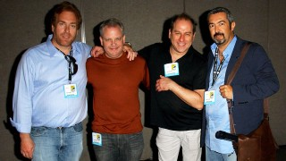 24's David Fury, Manny Coto, Evan Katz, and Jon Cassar at Comic-Con 2007