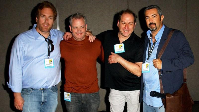 24's David Fury, Manny Coto, Evan Katz, and Jon Cassar at Comic-Con 2007