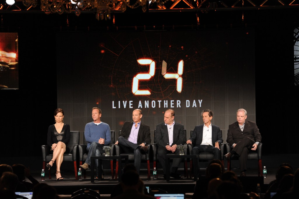 Cast and Crew of 24 Discuss 24: Live Another Day at FOX TCA 2014 panel