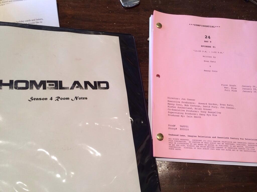 24: Live Another Day Premiere Script