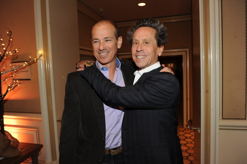 Howard Gordon and Brian Grazer at 2014 FOX Winter TCA
