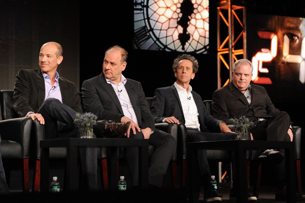 24: Live Another Day Executive Producers Howard Gordon, Evan Katz, Brian Grazer, and Manny Coto