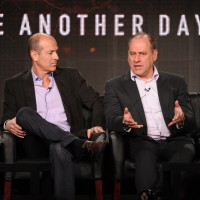 Howard Gordon and Evan Katz at FOX TCA 2014 Panel