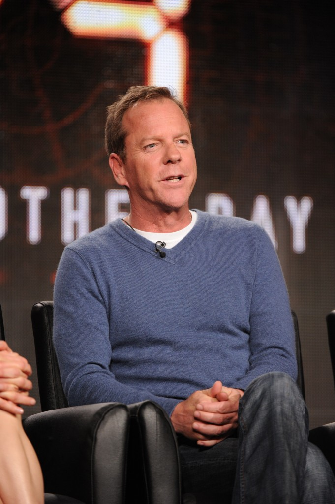 Kiefer Sutherland at the 24 Live Another Day TCA Panel