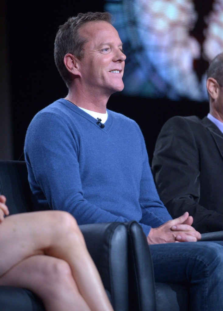 Kiefer Sutherland at the TCA 2014 Panel