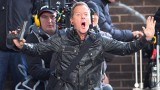 Kiefer Sutherland on set of 24 Live Another Day