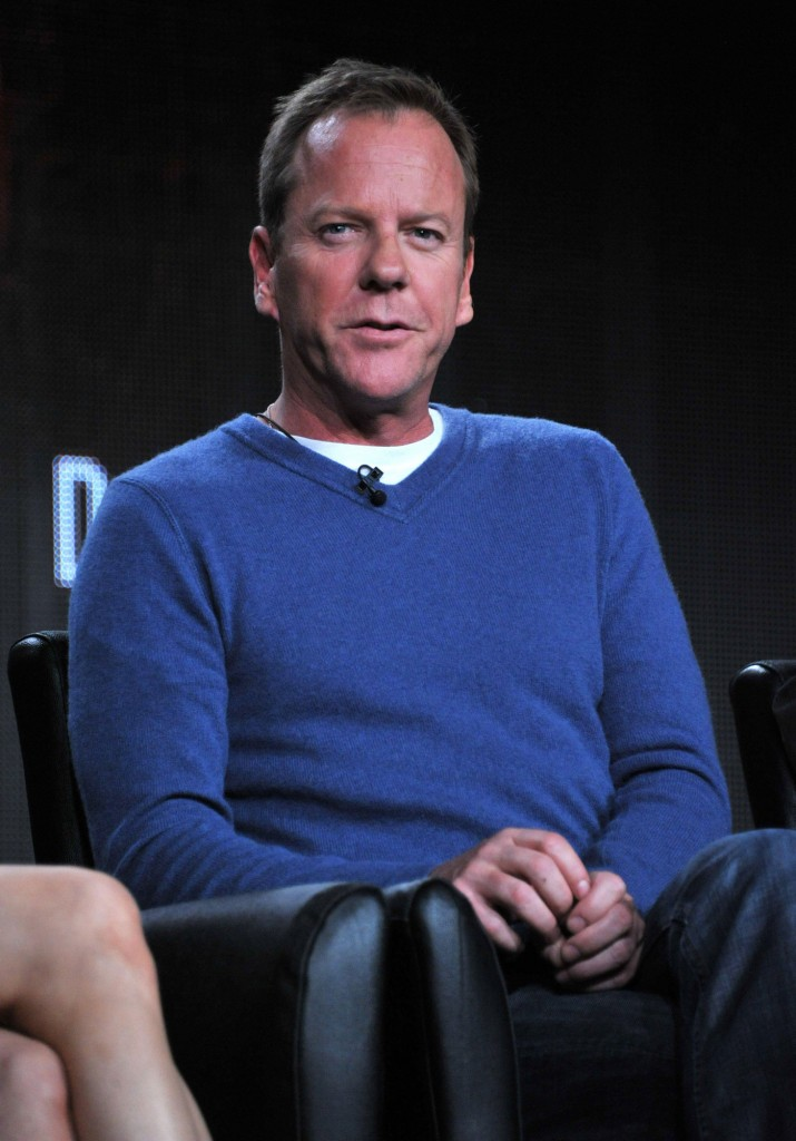 Kiefer Sutherland discusses 24 Live Another Day at TCA Panel