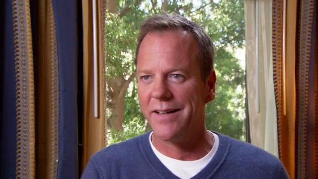 Kiefer Sutherland is interviewed by Access Hollywood on January 14, 2014