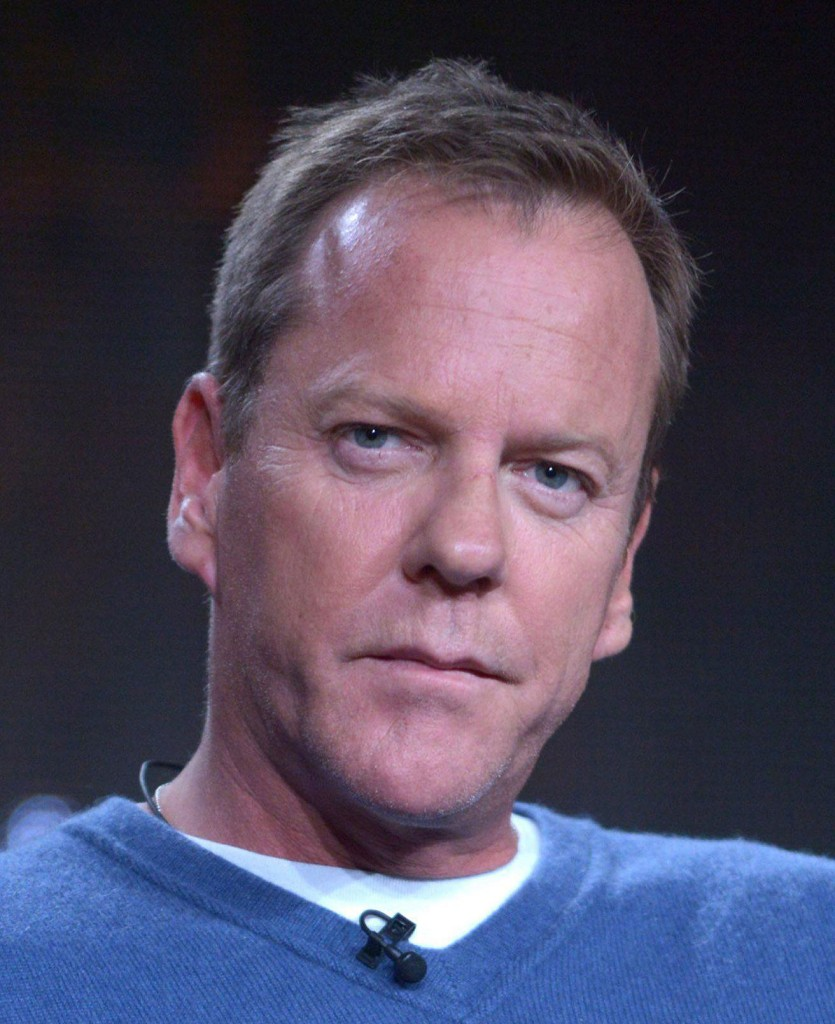 Kiefer Sutherland on the 24 Live Another Day Panel at 2014 FOX Wiinter TCA