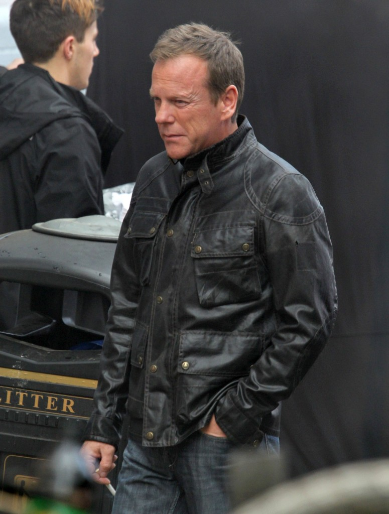 "Kiefer Sutherland Films ""24: Live Another Day"""