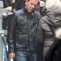 Kiefer Sutherland filming 24: Live Another Day in London
