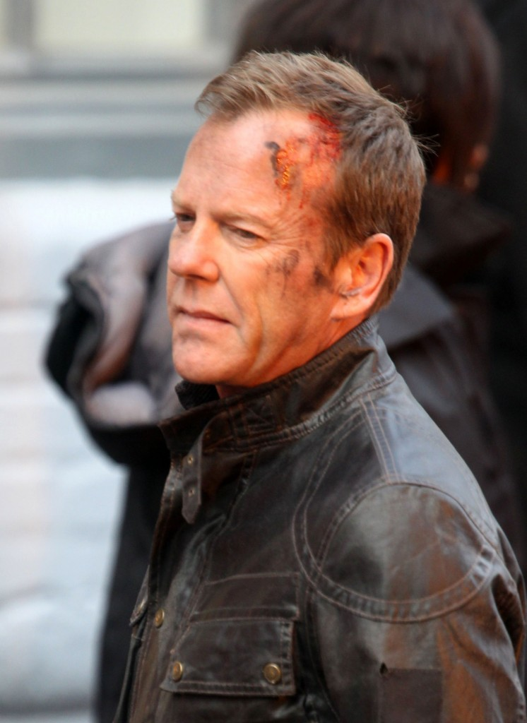 """Kiefer Sutherland Films """"24: Live Another Day"""""""