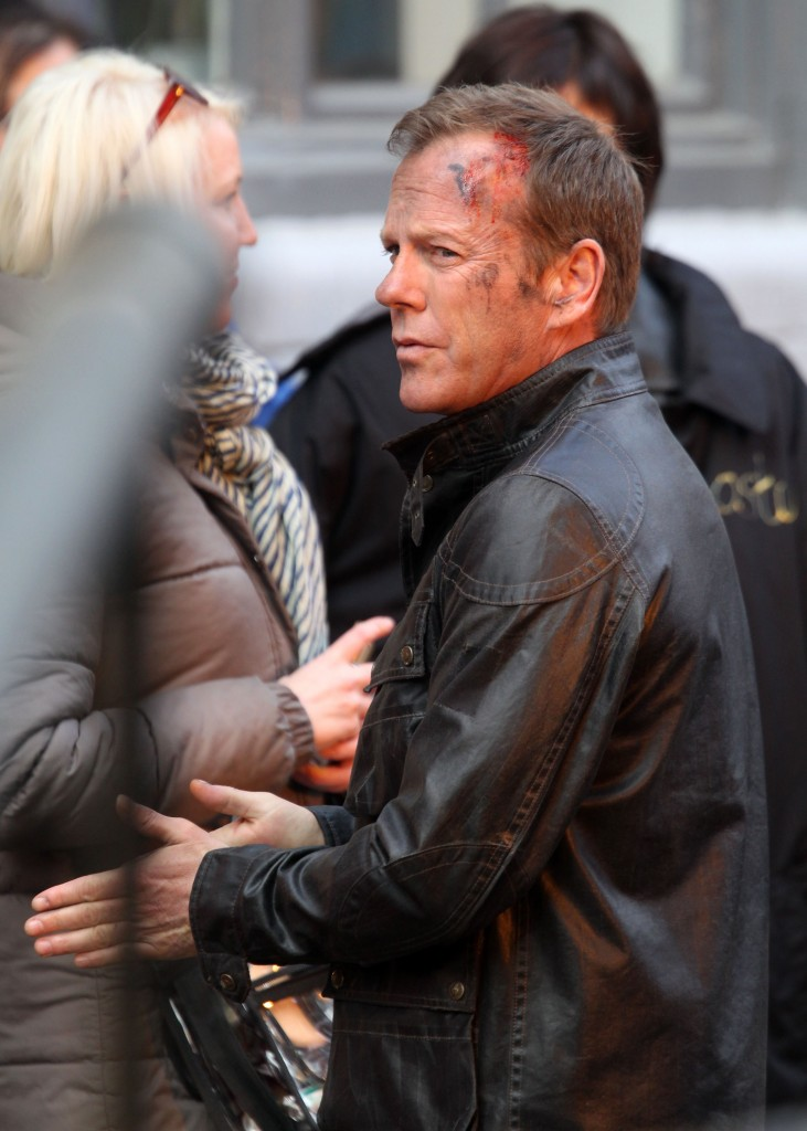 Kiefer Sutherland on 24: Live Another Day