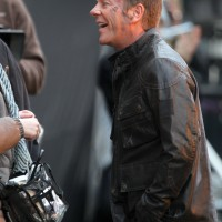 Kiefer Sutherland in London filming 24: Live Another Day