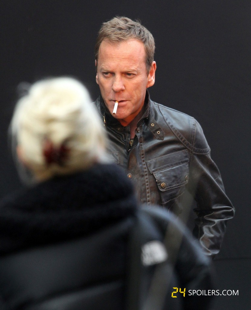 "Kiefer Sutherland Films ""24: Live Another Day"" in London"