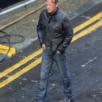 "Kiefer Sutherland in London filming ""24: Live Another Day"""