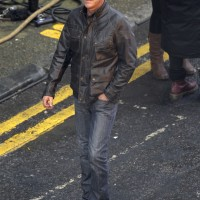 """Kiefer Sutherland Filming """"24: Live Another Day"""" Promotional Video"""