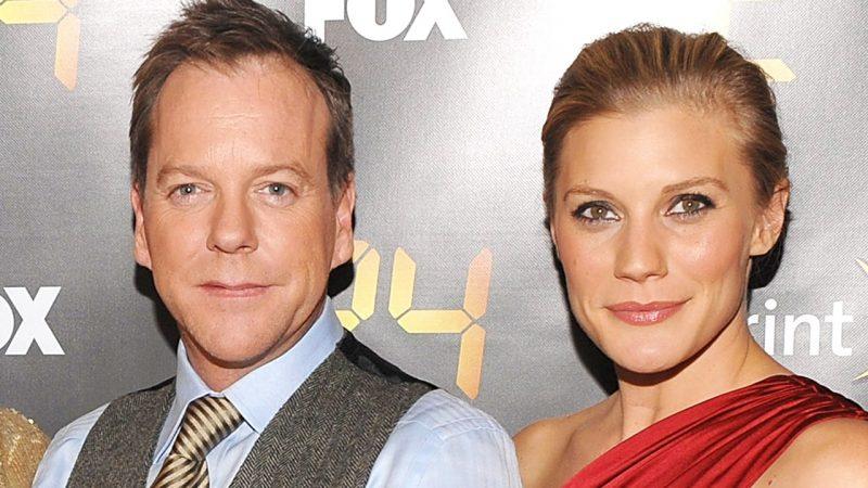 Kiefer Sutherland and Katee Sackhoff at 24 Season 8 Premiere Screening