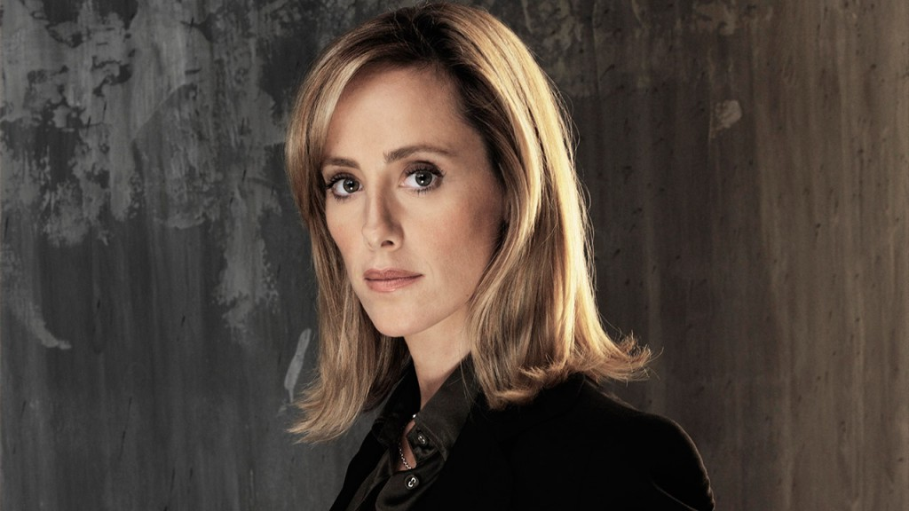 Kim Raver as Audrey Raines in a 24 Season 5 Promotional Photo