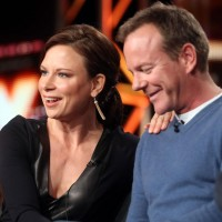 Mary Lynn and Kiefer Sutherland attend FOX Winter 2014 TCA