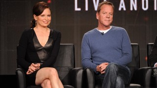 Mary Lynn Rajskub and Kiefer Sutherland at TCA14 24: Live Another Day Panel