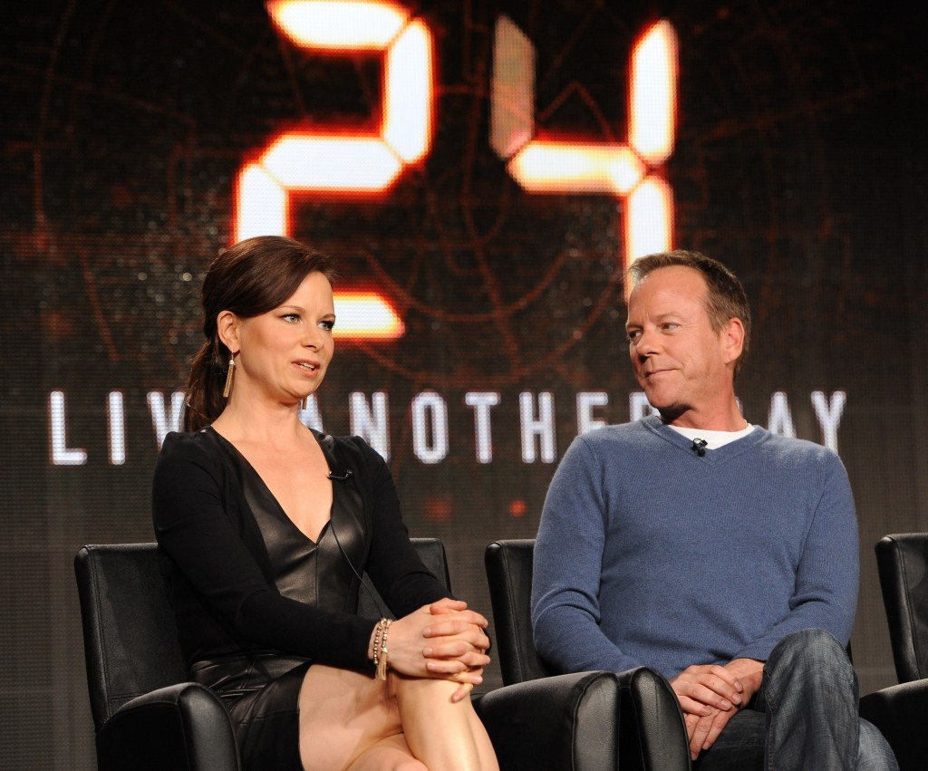 Mary Lynn Rajskub, Kiefer Sutherland at 24: Live Another Day FOX TCA 2014 Panel