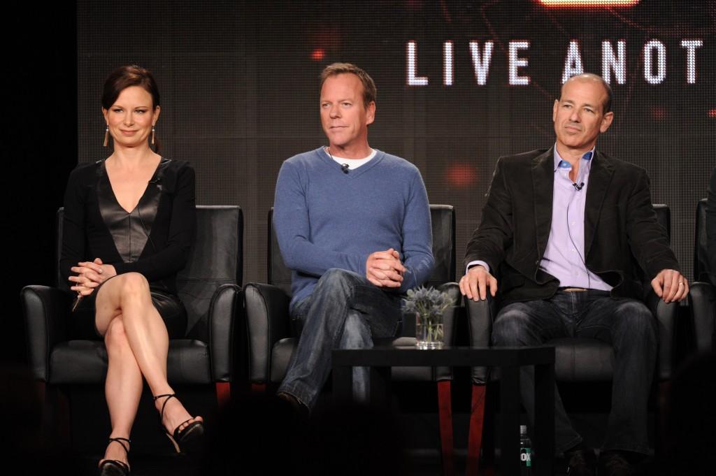 Mary Lynn Rajskub, Kiefer Sutherland, Howard Gordon at FOX TCA 2014 Panel