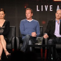 Mary Lynn Rajskub, Kiefer Sutherland, Howard Gordon at FOX TCA 2014 Panel