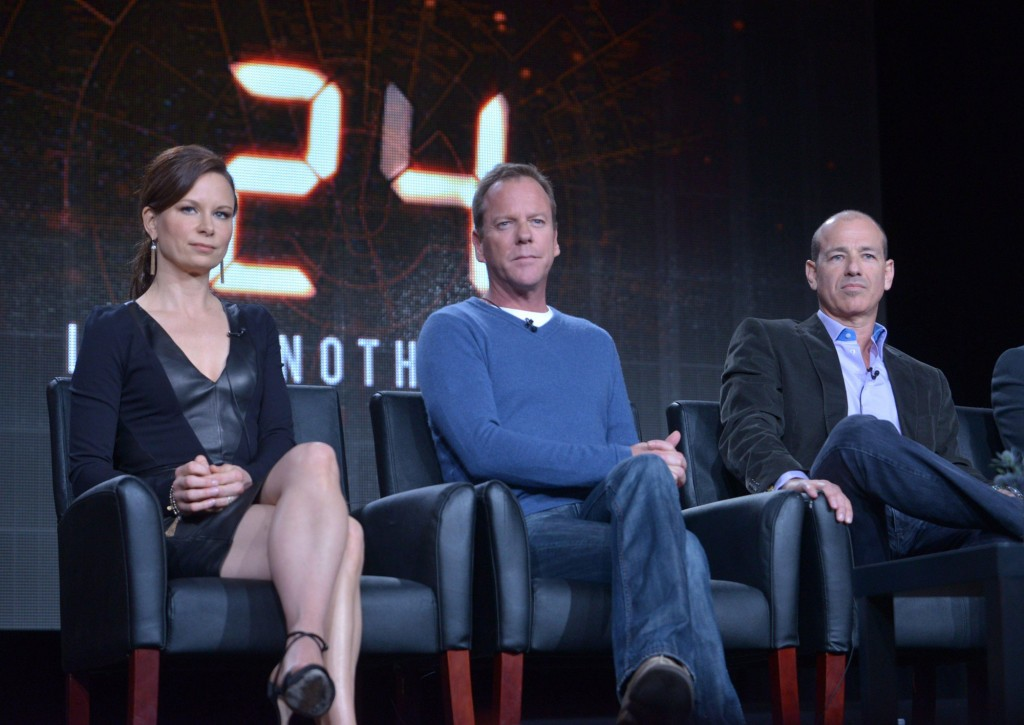 Mary Lynn Rajskub, Kiefer Sutherland, Howard Gordon at 24: Live Another Day Panel