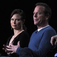 Mary Lynn Rajskub, Kiefer Sutherland at 24 Live Another Day Panel
