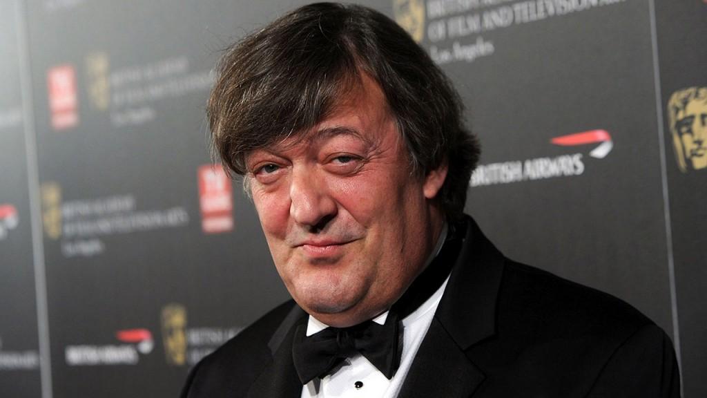 British actor Stephen Fry