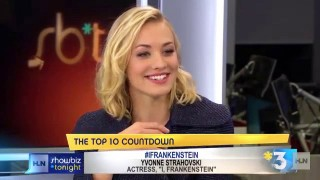 Yvonne Strahovski HLNtv Interview