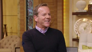Kiefer Sutherland on Live with Kelly and Michael