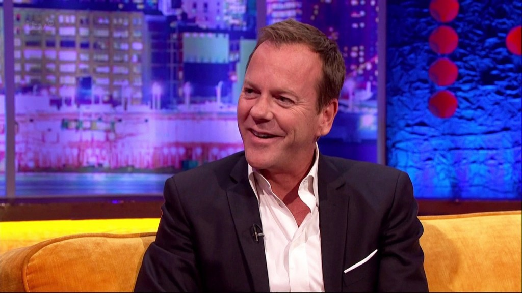 Kiefer Sutherland on The Jonathan Ross Show February 8, 2014