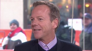 Kiefer Sutherland on TODAY Show - February 7, 2014