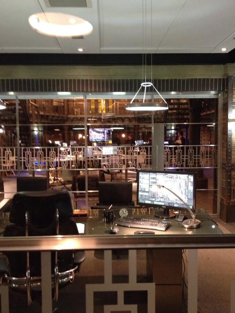 24: Live Another Day Set - Steve Navarro's Office