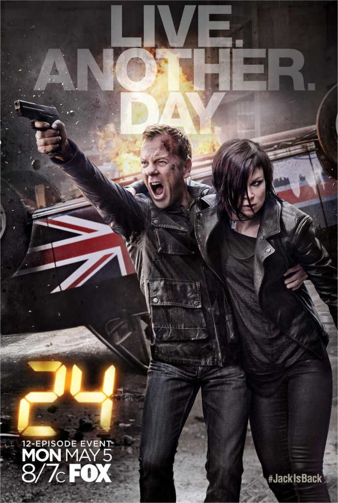 24: Live Another Day Official Poster