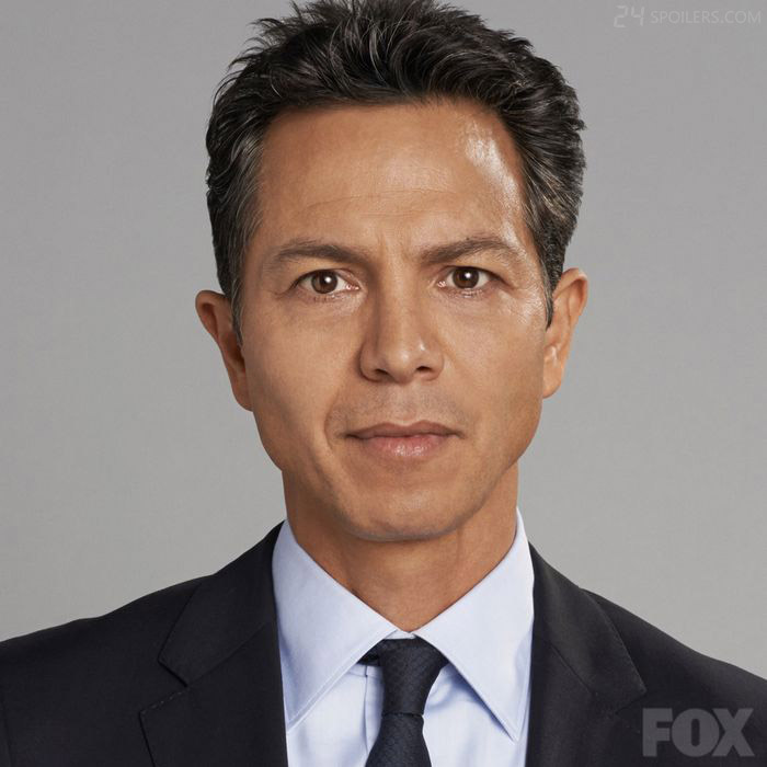 Benjamin Bratt as CIA head Steve Navarro in 24: Live Another Day